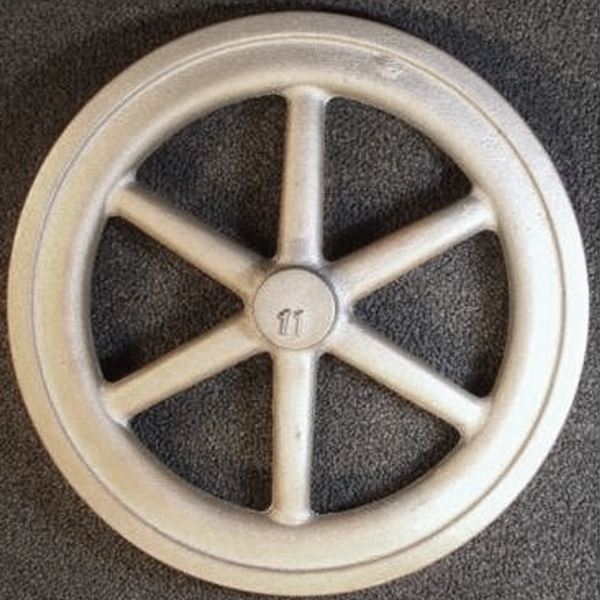 "11"" Flywheel 6-Spoke Straight"