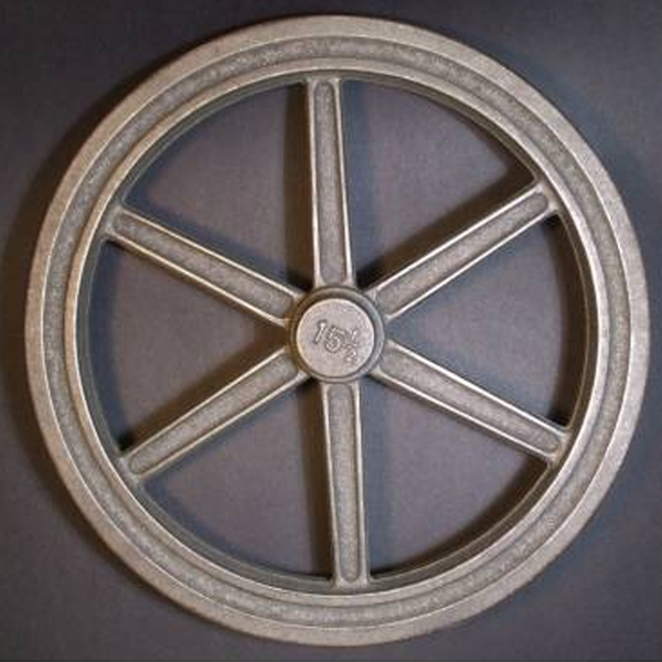 "15½"" Flywheel 6-Spoke Straight (Special Order - Deposit)"