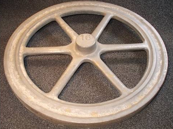 "16"" Flywheel 6-Spoke Straight (Special Order - Deposit)"