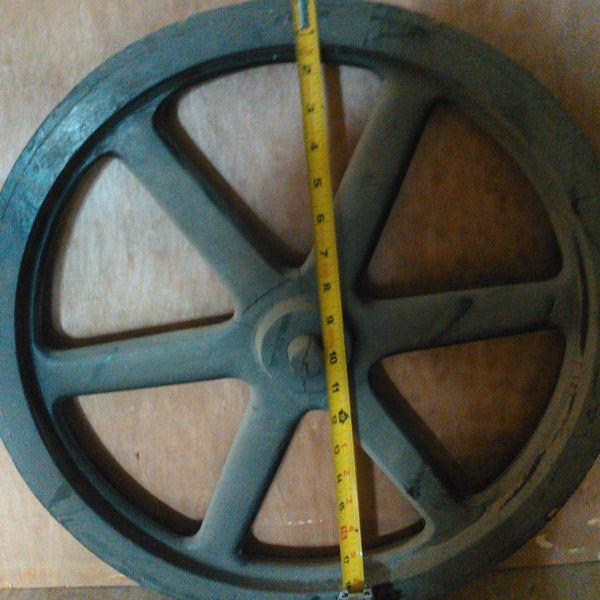"19"" Flywheel 6-Spoke Straight (Special Order - Deposit)"