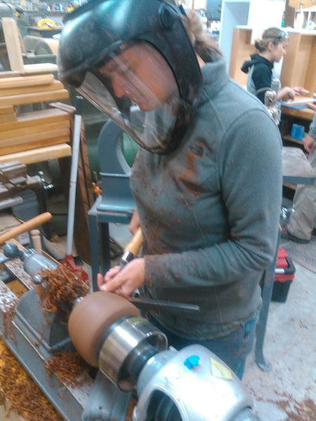 Woodworking 101 - Wood Turning - April 2021 - Friday Afternoon