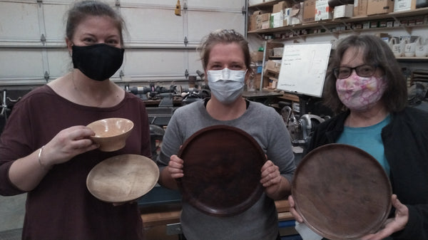 Woodworking 101 - Wood Turning - January 2021 - Friday Afternoon
