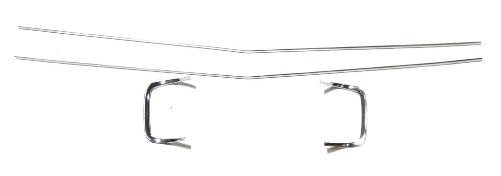 1968 Dodge Charger Grille Trim, 4 Piece Set