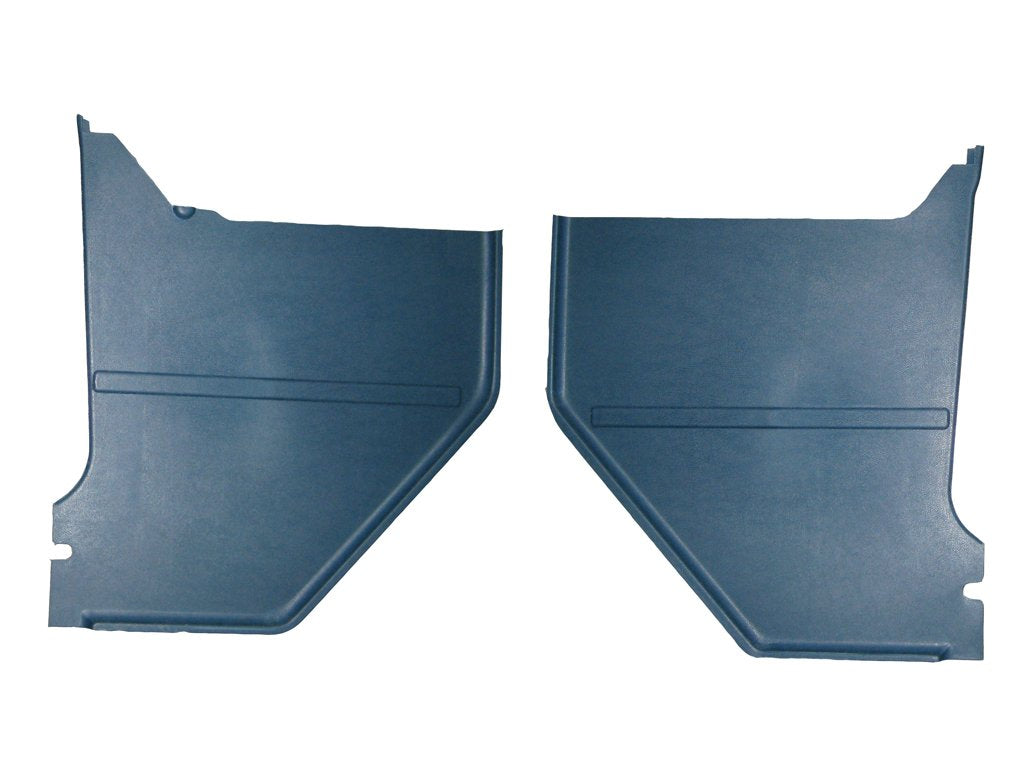 1965 Ford Mustang Kick Panel, Medium Blue Pair Coupe