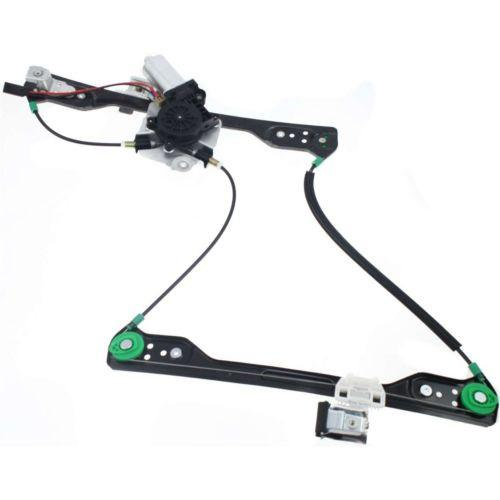 2005-2010 Dodge Charger Front Window Regulator RH, Power, With Motor