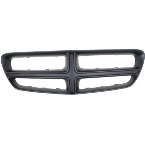 2011-2014 Dodge Charger Grille Frame, Black (CAPA)