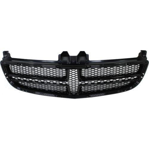 2012-2014 Dodge Charger Grille, Black, SRT-8 Model