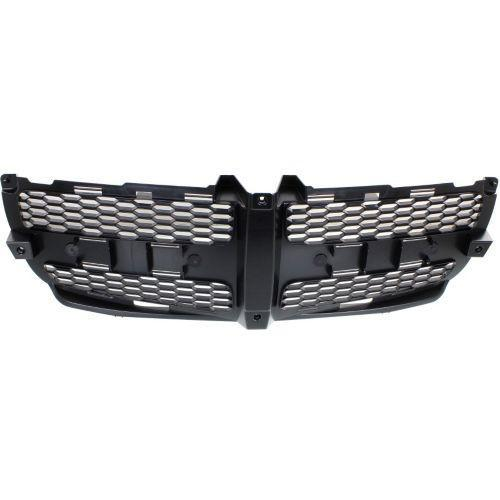 2011-2014 Dodge Charger Grille Insert, Textured Black (CAPA)