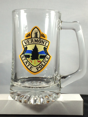 Vermont State Police Seal Sport Mug - 15 ounces