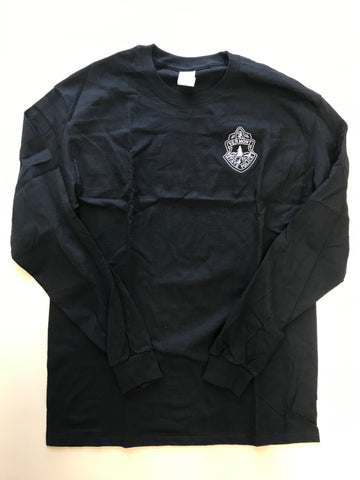 Vermont State Police Long-Sleeved Shirt - Black