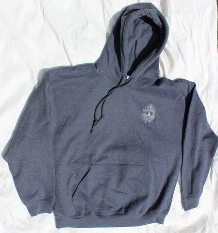 Vermont State Police Hooded Sweatshirt - Dark Heather