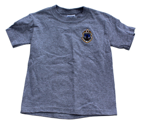 Kids Vermont State Police T-Shirt - Athletic Heather Gray