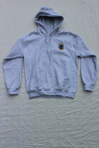 Vermont State Police Hooded Sweatshirt - Ash Grey