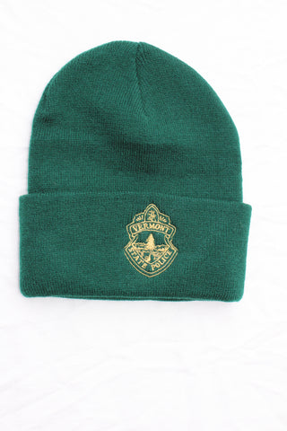 Vermont State Police Winter Hat / Beanie - Green