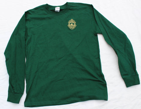 Vermont State Police Long-Sleeved Shirt - Forest Green