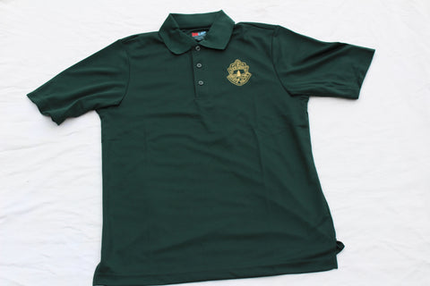 Men's Vermont State Police Dri-Tech Polo - Green