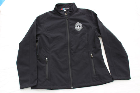 Ladies Vermont State Police Soft Shell Jacket - Black