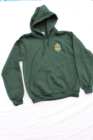 Vermont State Police Hooded Sweatshirt - Forest Green