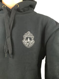 Vermont State Police Hoodie with Subdued Patch - Black