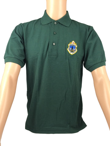 Vermont State Police Polo Shirt - Green or Black