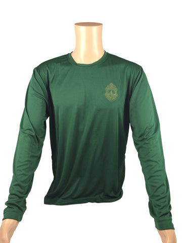 Vermont State Police Embroidered Sport-Tek Long-Sleeved Shirt - Green or Black