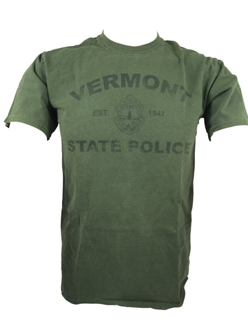 Vermont State Police Arched Logo T-Shirt