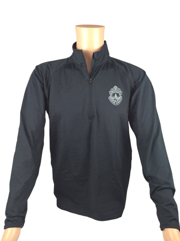 Vermont State Police 1/4 Zip Pullover Subdued Logo