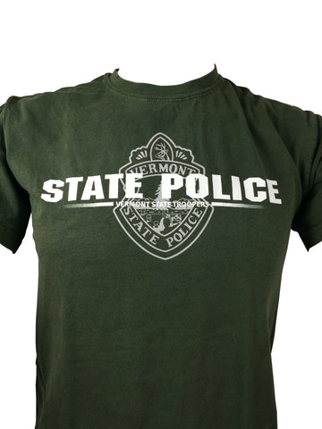 Vermont State Police Door Seal T-Shirt