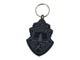 Vermont State Police Subdued Patch Embroidered Key Chain