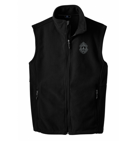 Vermont State Police Fleece Vest - Black