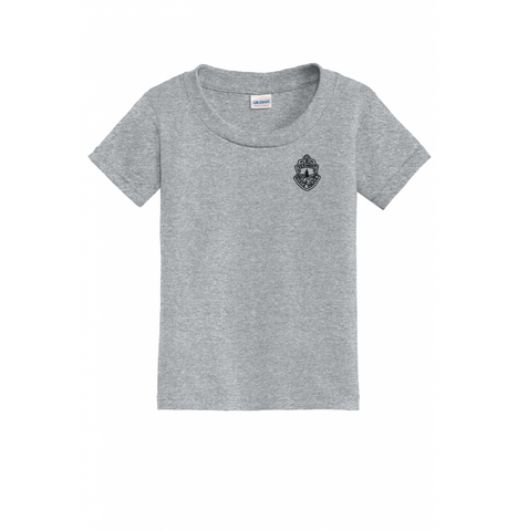 Vermont State Police Toddler T-Shirt - Sport Gray