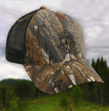 Vermont State Police Mossy Oak Camo Hat - Adjustable
