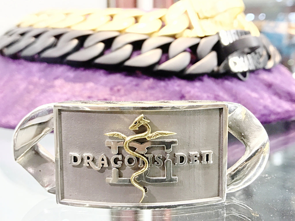 DRAGONS DEN CUSTOM DOG COLLAR ID LINK