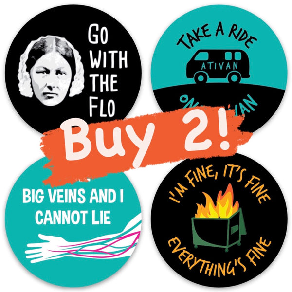 Buy 2 Stickers: Choose Your Own