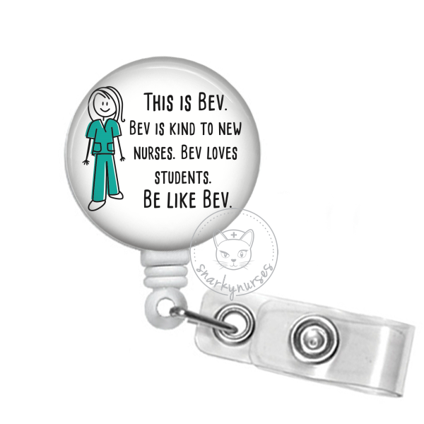 Badge Reel: This is Bev - Multiple Colors