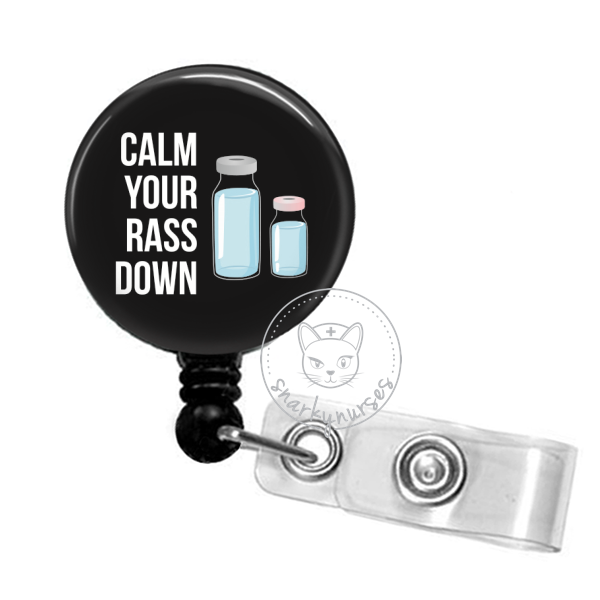 Badge Reel: Calm your RASS down - Multiple Colors!
