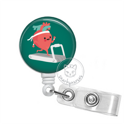 Badge Reel: Cardiac Exercise - Multiple Colors!