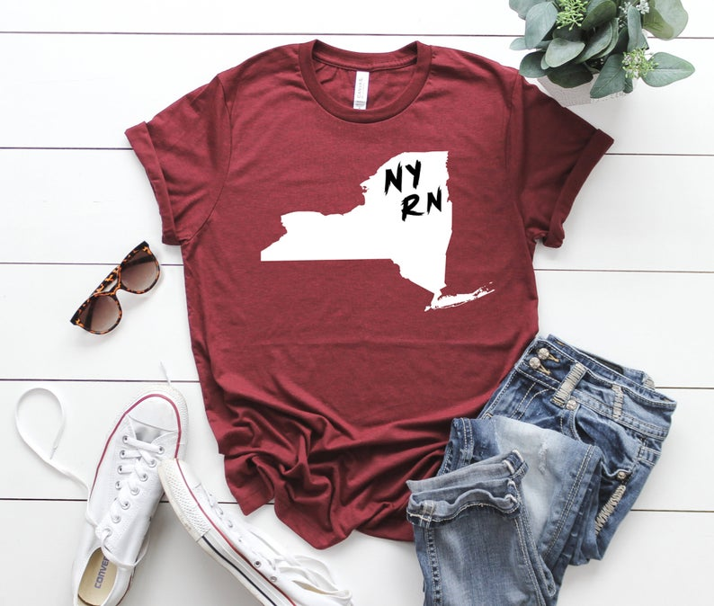Shirt: Your State RN - All States Available!