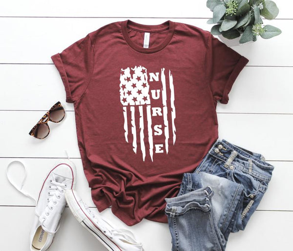 Shirt: 4th of July Nurse