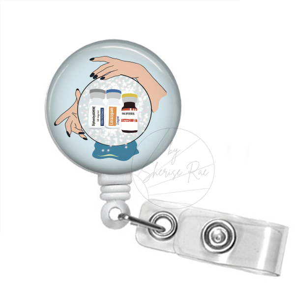 Badge Reel: Crystal Ball - C