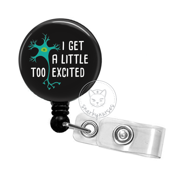 Badge Reel: I Get a little too excited - Multiple Colors!
