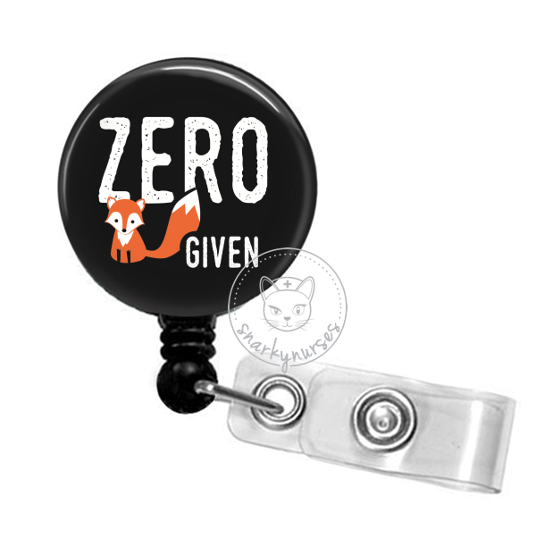 Badge Reel: Zero Fox Given