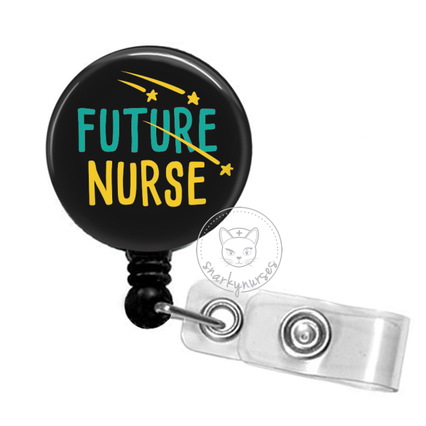 Badge Reel: Future Nurse - Multiple Colors!