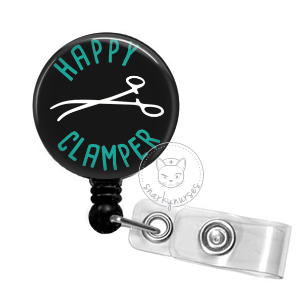 Badge Reel: Happy Clamper