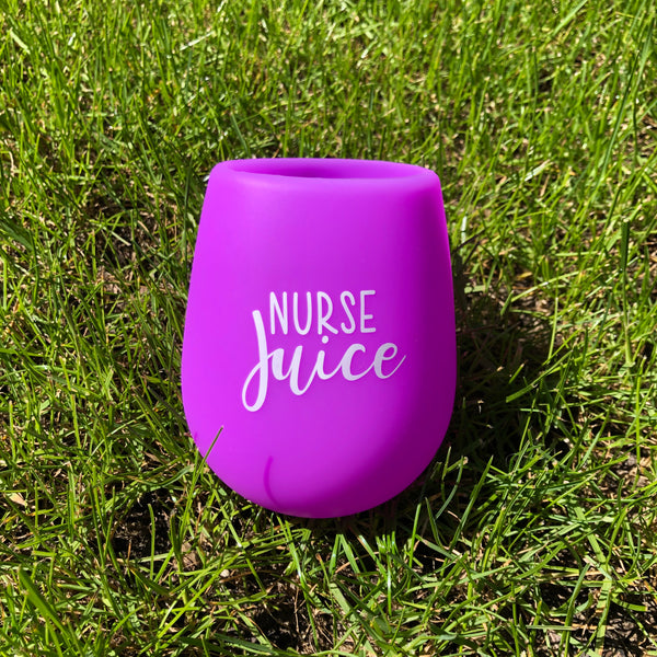 Wine Glass: Nurse Juice