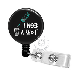 Badge Reel: I Need a Shot