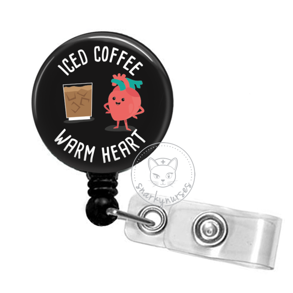 Badge Reel: Iced Coffee, Warm Heart