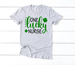 Shirt: One Lucky Nurse - St. Patrick's Day