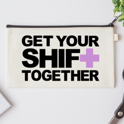 Pen Bag: Get Your Shift Together
