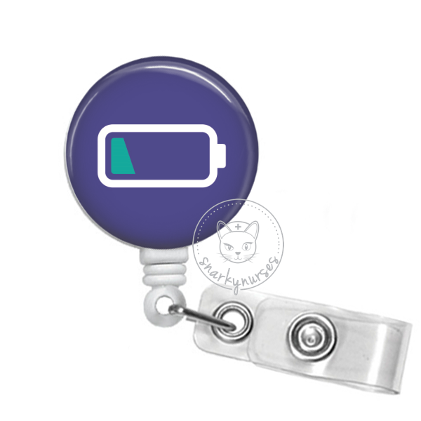 Badge Reel: Low Battery